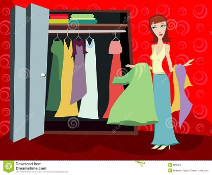 http://www.dreamstime.com/stock-photo-closet-clothes-brunette-image826360